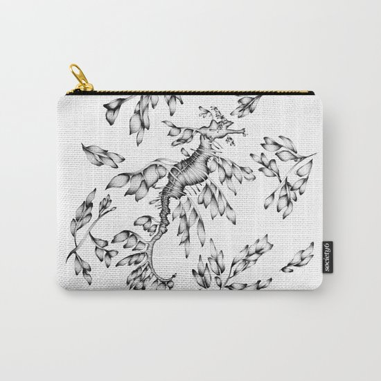 Camouflaged - the Sea Dragon Carry-All Pouch