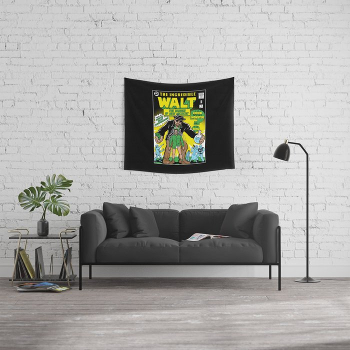 The Incredible Walt Wall Tapestry