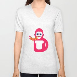 Monkey Inception Unisex V-Neck