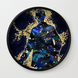 ... fallin' through space, you and me... Wall Clock