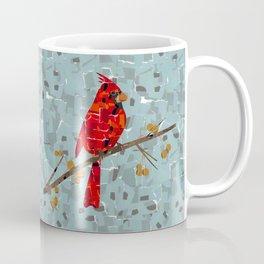 Red Cardinal Collage Coffee Mug