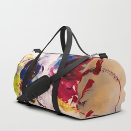 Abstract bouquet Duffle Bag