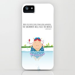 Tifanny - Swimmer iPhone Case