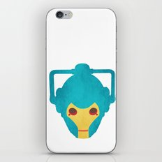 Colorful Cyberman Doctor Who iPhone & iPod Skin