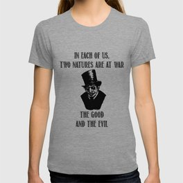 Good and Evil | Dr. Jekyll &amp Mr. Hyde T-shirt