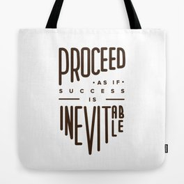Proceed Tote Bag