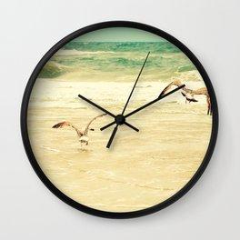 Karate Kid Pose Wall Clock