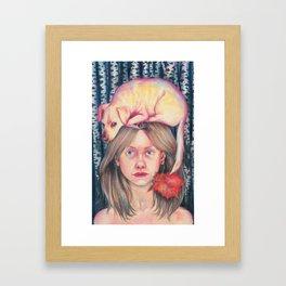 Self portrait Framed Art Print