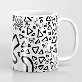 Truthful Pups (Black and White) Coffee Mug