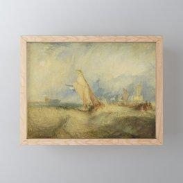 Van Tromp getting a good wetting Framed Mini Art Print
