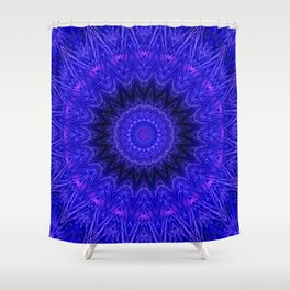 Digital Embroidery Shower Curtain