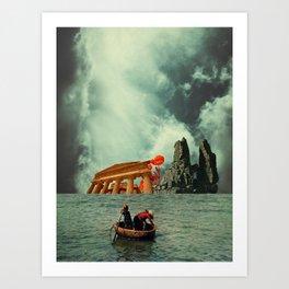 We Are All Fishermen Art Print