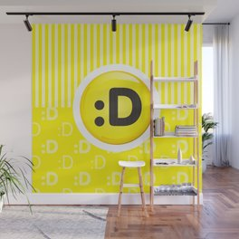 Yellow Writer's Mood Wall Mural
