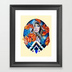 Nautical Spring Framed Art Print