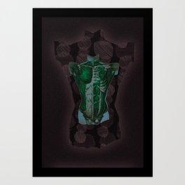 Skin3 Art Print
