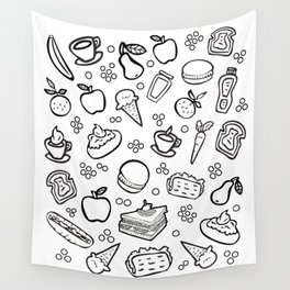 Fun Food Wall Tapestry