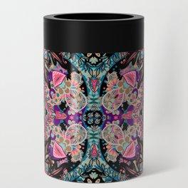 Mandala Colorful Boho Can Cooler