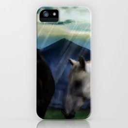 Outside the Barn iPhone Case