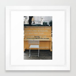 Art for Equality Framed Art Print