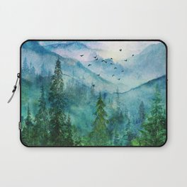 Spring Mountainscape Laptop Sleeve