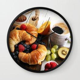 Breakfast Wall Clock