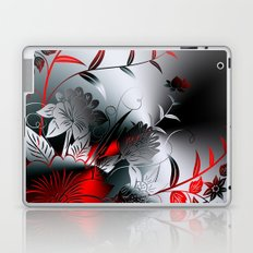 Metallblumen Laptop & iPad Skin