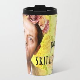 My people skills are rusty - Castiel Travel Mug