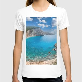 The spectacular Porto Katsiki in Lefkada, Greece T-shirt