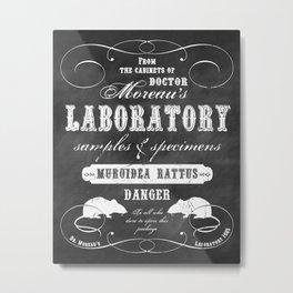 Dr. Moreau's Laboratory Metal Print