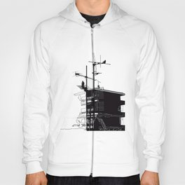 French rooftops Hoody