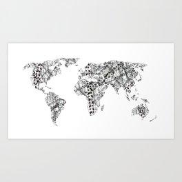Nomad - Globetrotter Art Print