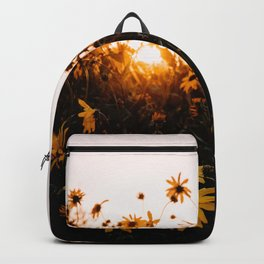 California Sunshine and Flowers Backpack