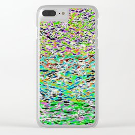 solarized landscape Clear iPhone Case