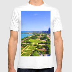 Grant Park MEDIUM Mens Fitted Tee White