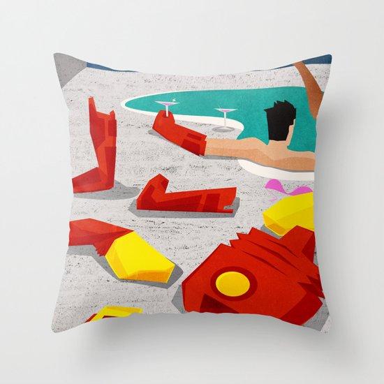 Iron-Mod Throw Pillow