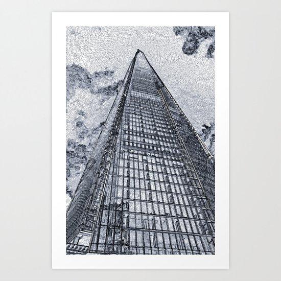 Shard Art Art Print