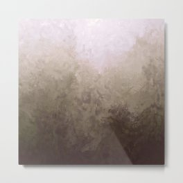 Morning mist texture Metal Print
