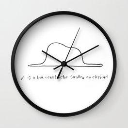 boa Wall Clock