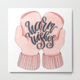Warm Wishes Metal Print