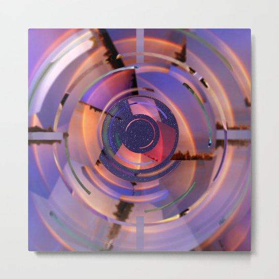 Rainbow Finder Metal Print