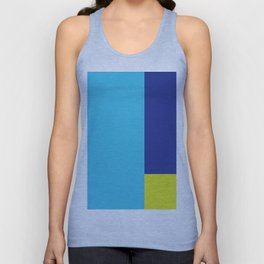 Color Block - 2 Unisex Tank Top
