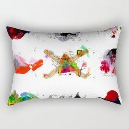 9 abstract rituals Rectangular Pillow