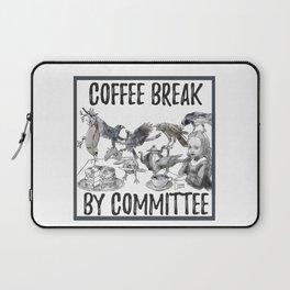 coffee break by committee Laptop Sleeve