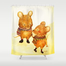 Taiwan Field Mouse Shower Curtain