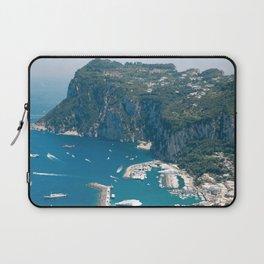 Italy, Capri Landscape View Laptop Sleeve