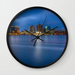 Norfolk Skyline Wall Clock