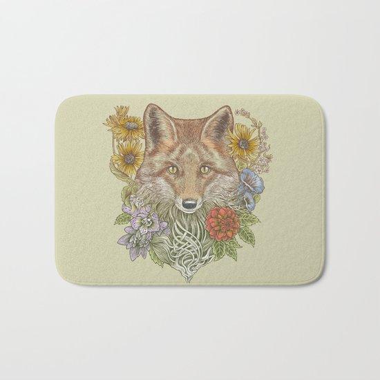 Fox Garden Bath Mat