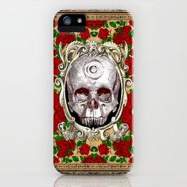 Infinitum - Macabre Gothic Skull iPhone Case