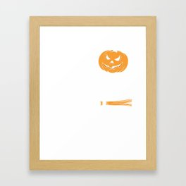 Happy Halloween Kids Gift T-Shirt Framed Art Print