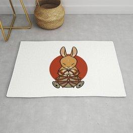 Rope Bunny Rug